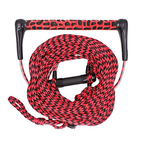 Obcursco Wakeboard Rope, Water Sport Line with EVA Handle. Ideal for Water ski, Wakeboard, Kneeboard (Wakeboard Rope 02)