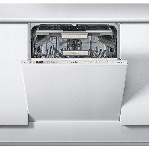 Whirlpool WIO 3T123 PEF Totalmente integrado 14cubiertos A++ lavavajilla - Lavavajillas (Totalmente integrado, Acero inoxidable, Botones, LED, 1,3 m, 14 cubiertos)