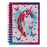 Wobbly Jelly Lucy Locket - Agenda delle attività Unicorno Magico per Bambini - Agenda delle attività e diario Segreto per Bambini - Adesivi, sezioni da colorare, Pagine a Righe e Altro Ancora