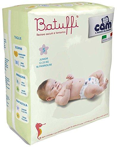 Cam Il Mondo del Bambino Couches, Taille 1 (2-5 kg), 22 pièces Taglia 5