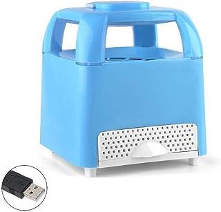 SUREH Lámpara USB para matar mosquitos para interior o interior, no tóxica, con luz LED para matar insectos, trampa electrónica de mosquitos para dormitorio, camping