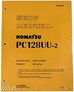 Komatsu PC128UU-2 Excavator Workshop Repair Service Manual - Part Number # SEBM018506