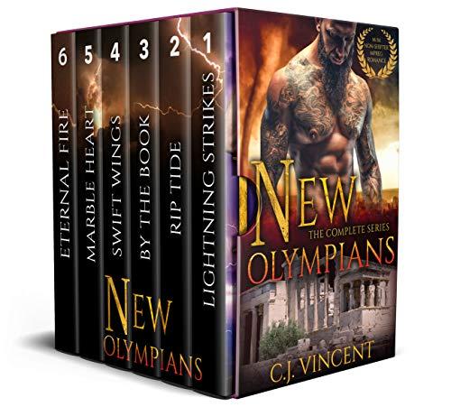 New Olympians: Books 1-6: A M/M Non-Shifter Mpreg Romance Box Set (English Edition)