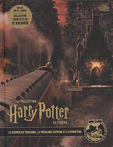 La collection Harry Potter au cinéma, vol. 2 : Le chemin de traverse, le Poudlard Express et le mini