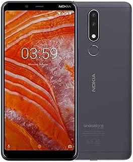 nokia 3.1 plus Smartphone koyu gri