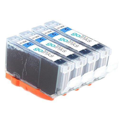 4 Go inkt cyaan inktcartridges ter vervanging van HP 364 XL (HP364C) Compatibel/niet-OEM voor HP Photosmart printers
