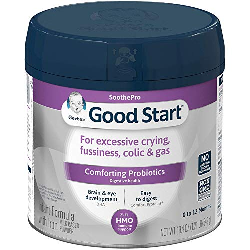 Gerber Good Start Soothe Non-GMO Powder Infant Formula,...