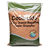 Cedarcide Granules (8 Bags) Insect Repelling Cedar Mulch Granules Repels Fleas, Ticks, Ants, Mites, Mosquitoes 8lb Bags Water Activated | Protect Your Lawn with a Cedar Barrier