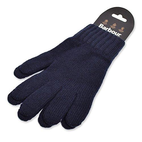 (バブアー) BARBOUR 【MGL0006NY91M】LAMBSWOOL GLOVESNavyランブスウール グローブニット手袋
