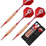 L.E.D STEP Soft Darts 18 g Darts Tournament Soft Tip Dart Set, Aluminum Darts Shafts with Flights