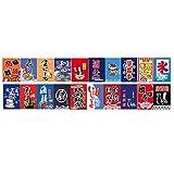 Goddness Bar Hängende Flagge im japanischen Stil Restaurant Hängende Ornamente Karpfenflagge (Stil 02)