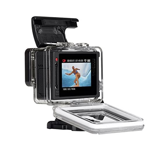 GoPro Hero 4 Silver Edition 12MP Waterproof Sports & Action Camera Bundle with 2 Batteries 3 Built-in touch display for easy camera control, shot-framing and playback,Protune with SuperView delivers cinema-quality capture and advanced manual control for photos and video with the world's most immersive wide-angle field of view Professional 1080p60 and 720p120 video with 12MP photos at up to 30 frames per second. Video Supported: 4K15 / 2.7K30 / 1440p48 / 1080p60 / 960p100 / 720p120 fps Built-in Wi-Fi and Bluetooth support the GoPro App, Smart Remote and more