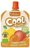 ヴィタビオ クールフルーツ アップル&ピーチ&アプリコット 90g