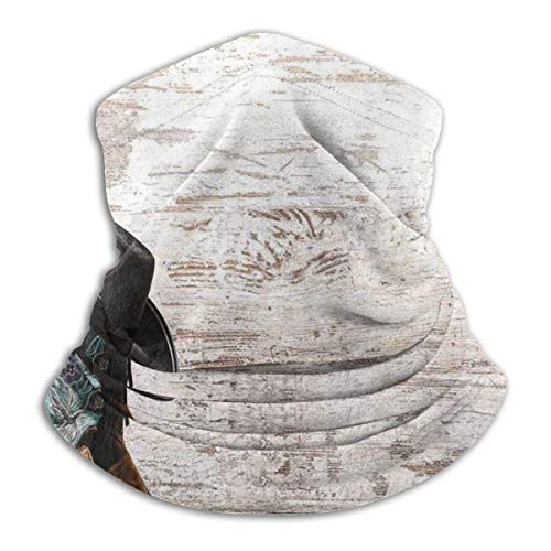 Unisex Cuello Bufanda,Botas Ice Fishing Hombre Mujer Pasamontañas,Microfibra Pañuelo De Cabeza,Viento Polvo Prueba Cuello Pañuelo para Cámping,Pesca,Caza
