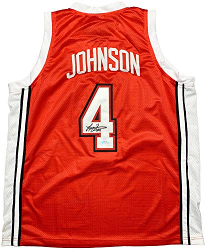 Larry Johnson autographed signed jersey NCAA UNLV Runnin' Rebels PSA COA
