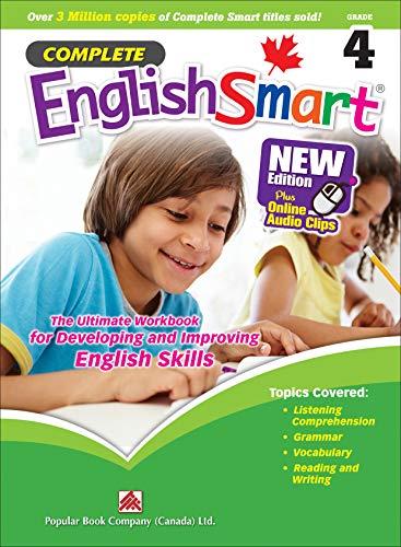 Complete EnglishSmart (New Edition) Grade 4: Canadian Curriculum English Workbook