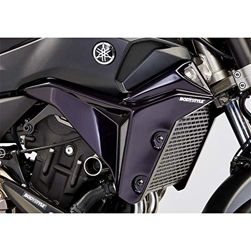 BODYSTYLE radiator side cover black | 6580078