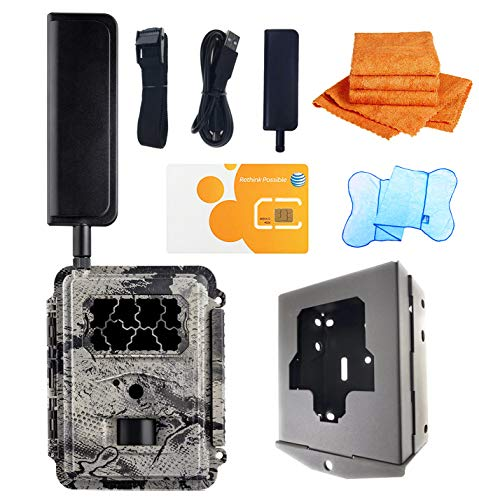 Spartan GoCam with Security Box (Pick a Right Carrier for Your Need) (AT&T 4G Blackout Flash)