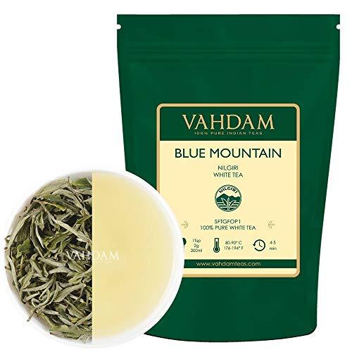 Exóticas hojas de té blancas de las Montañas Azules (25