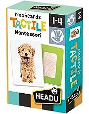 Headu-Flashcards Tactile Montessori, MU23738