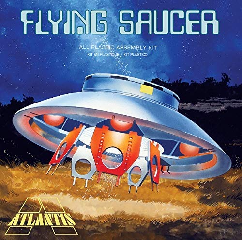 Flying Saucer UFO 1/72 Plastic Model Kit Atlantis Made in The USA