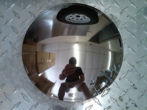 BA Products Phoenix R2512-x4, Set of 4-8' Dia. Stainless Steel Baby Moon Hub Cap for Trailer, Dollies, Golf Cart, Lawn...