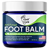 Foot Cure All-Natural Foot Balm – Moisturizing Foot Care Cream For Dry Skin,...