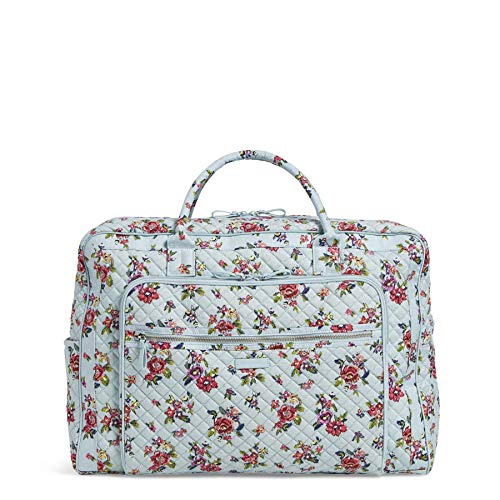 Vera Bradley Signature Cotton Grand Weekender Travel Bag, Water Bouquet