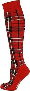 scottish plaid socks