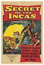 Secret of the Incas 1954 DVD NTSC Charlton Heston Robert Young Nicole Maurey