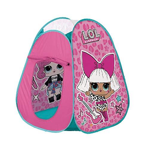 Mondo Toys - LOL Pop-Up Tent - Tenda da gioco per bambino / bambina - facile da montare / easy to open - borsa per trasporto INCLUSA - 28545
