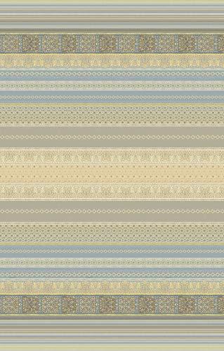 Bassetti Tela decorativa Granfoulard para sofá   Gran foulard para sofá de algodón   Tela cubretodo, varios usos (colcha, picnic, cortina, cubremesa)   Medidas 270 x 270 cm Mod. Algeri - G1