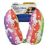 Best Car Pillow For Kids - Cloudz Patterned Microbead Travel Neck Pillows - Unicorn Review