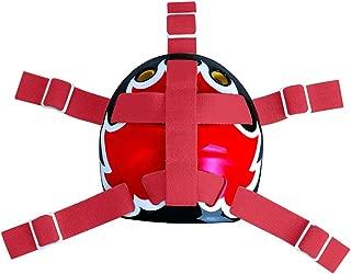 A&R Sports Open Back Goalie Helmet Harness - Red