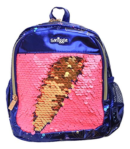 Smiggle Teeny Tiny My First Backpack - Shimmy Reverse Sequin