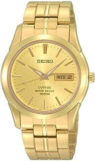 Seiko Men SGGA62P Year-Round Analog Quartz Gold Watch