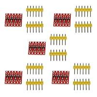 双方向変換モジュール IIC I2Cレベル変換モジュール 降圧装置 4チャンネル Arduino用 5個