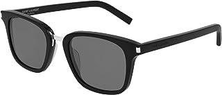 Saint Laurent - Gafas de Sol SL 341 Black/Grey 51/21/145 hombre