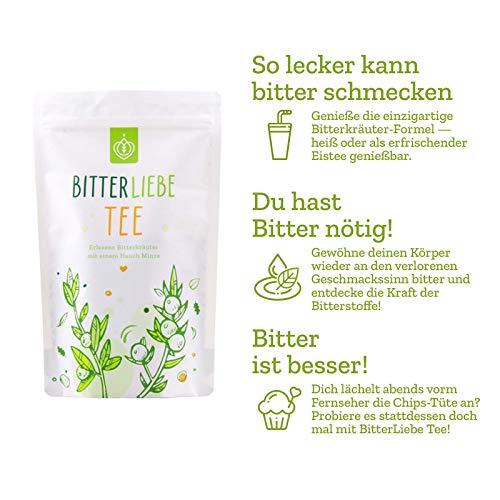 BitterLiebe® Kräutertee lose 100g mit der Kraft der Bitterstoffe - 4