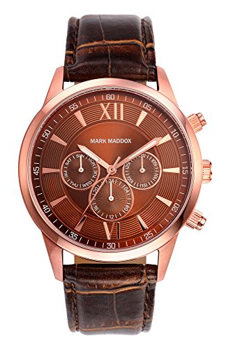 Mark Maddox HC6002-43 - Reloj de Cuarzo para Hombre, Correa de Poliuretano