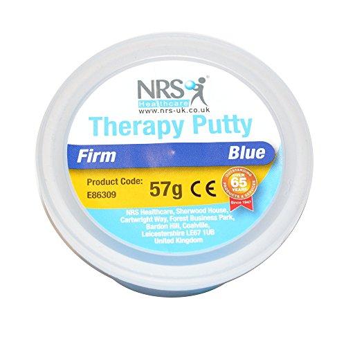 NRS Healthcare E86309 - Masilla terapéutica, 57g, resistencia elevada, color azul