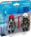 Playmobil 70081 Duo Pack DuoPack Feuerwehrmann und-Frau