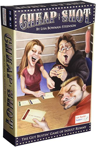 Cheap Shot of Insult Rummy Board Game by Gut Bustin' Games