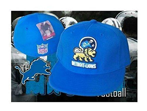 Genuine Merchandise Detroit Lions Vintage Throwback Logo Fitted Size 7 1/2 Hat Cap