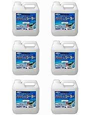 アサヒペン 強浸透性水性シーラー 3L 透明(クリヤ) 6缶セット