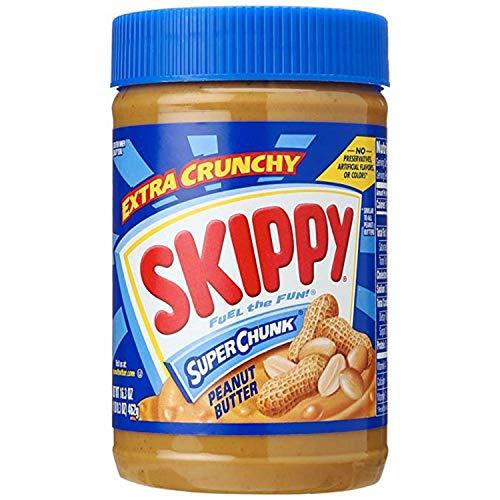 Skippy Extra Crunchy Super Chunk Peanut Butter 462g (Skippy Extra Knusprige Super Chunk Erdnussbutter)