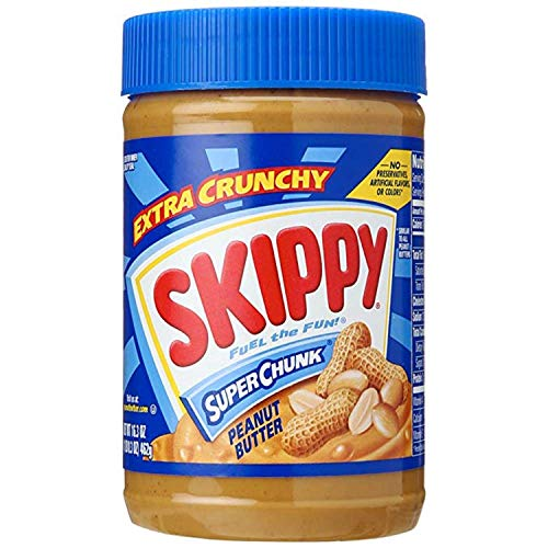 Skippy Peanut Butter Super Chunky, 16.3 oz