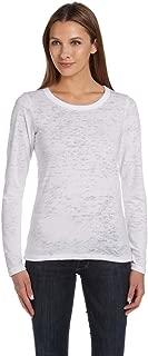 Bella + Canvas Ladies Burnout Long-Sleeve T-Shirt