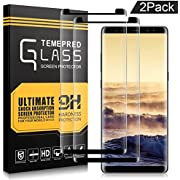 Samsung Galaxy Note 8 Screen Protector,AOFU Tempered Glass 3D Touch Compatible,9H Hardness,Bubble 2 Pack-02-BT