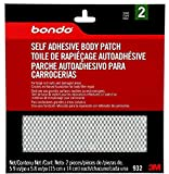 Bondo Self Adhesive Body Patch, Stage 2, For Large Rust-Outs and Damaged Areas, 2 Patches, 5.9 in x 5.8 in
